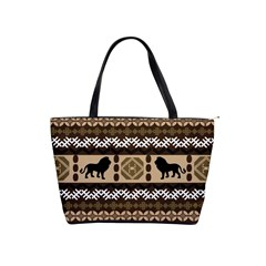 African Vector Patterns  Shoulder Handbags