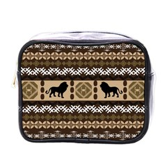 African Vector Patterns  Mini Toiletries Bags