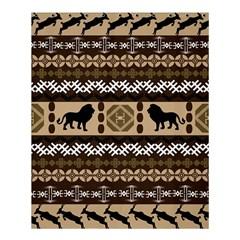 African Vector Patterns  Shower Curtain 60  X 72  (medium)