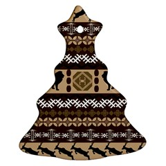 African Vector Patterns  Ornament (Christmas Tree)