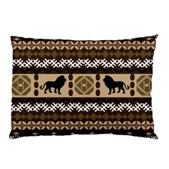 African Vector Patterns  Pillow Case (Two Sides)