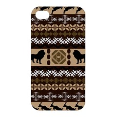 African Vector Patterns  Apple Iphone 4/4s Hardshell Case