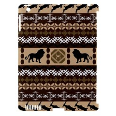 African Vector Patterns  Apple Ipad 3/4 Hardshell Case (compatible With Smart Cover)