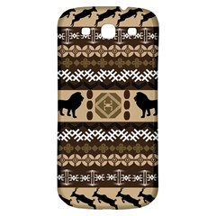African Vector Patterns  Samsung Galaxy S3 S Iii Classic Hardshell Back Case