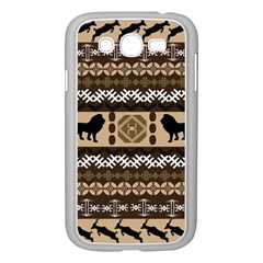 African Vector Patterns  Samsung Galaxy Grand Duos I9082 Case (white)