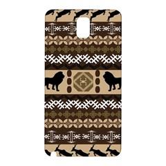 African Vector Patterns  Samsung Galaxy Note 3 N9005 Hardshell Back Case