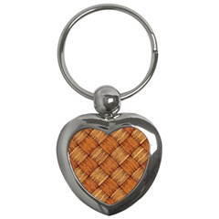 Vector Square Texture Pattern Key Chains (Heart)
