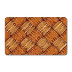 Vector Square Texture Pattern Magnet (rectangular)