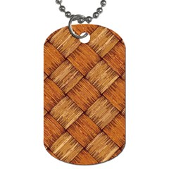 Vector Square Texture Pattern Dog Tag (one Side)