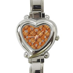 Vector Square Texture Pattern Heart Italian Charm Watch