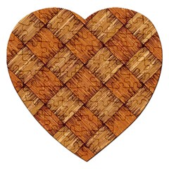 Vector Square Texture Pattern Jigsaw Puzzle (heart)