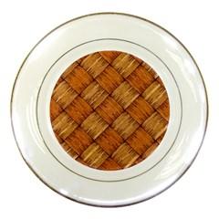 Vector Square Texture Pattern Porcelain Plates