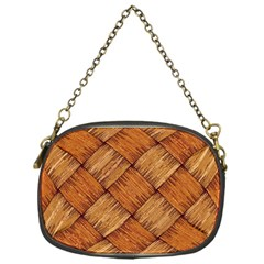 Vector Square Texture Pattern Chain Purses (One Side)