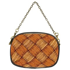 Vector Square Texture Pattern Chain Purses (two Sides)