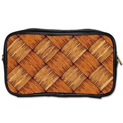Vector Square Texture Pattern Toiletries Bags 2 Side