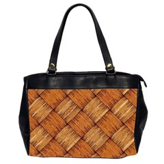 Vector Square Texture Pattern Office Handbags (2 Sides)