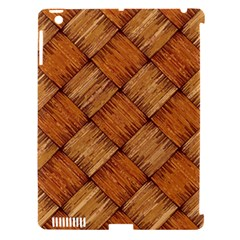 Vector Square Texture Pattern Apple iPad 3/4 Hardshell Case (Compatible with Smart Cover)