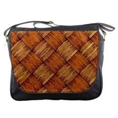 Vector Square Texture Pattern Messenger Bags