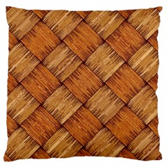 Vector Square Texture Pattern Large Cushion Case (Two Sides)