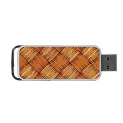Vector Square Texture Pattern Portable Usb Flash (one Side)