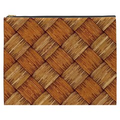 Vector Square Texture Pattern Cosmetic Bag (xxxl)