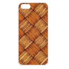 Vector Square Texture Pattern Apple iPhone 5 Seamless Case (White)