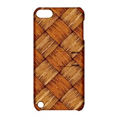 Vector Square Texture Pattern Apple Ipod Touch 5 Hardshell Case With Stand