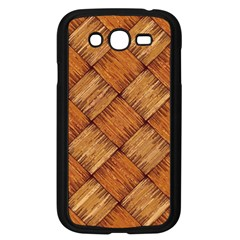 Vector Square Texture Pattern Samsung Galaxy Grand Duos I9082 Case (black)