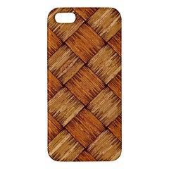 Vector Square Texture Pattern iPhone 5S/ SE Premium Hardshell Case