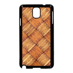 Vector Square Texture Pattern Samsung Galaxy Note 3 Neo Hardshell Case (black)