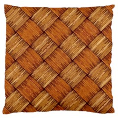 Vector Square Texture Pattern Large Flano Cushion Case (one Side)