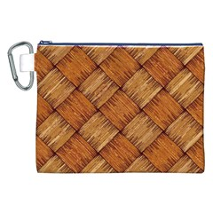Vector Square Texture Pattern Canvas Cosmetic Bag (XXL)