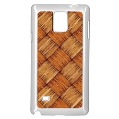 Vector Square Texture Pattern Samsung Galaxy Note 4 Case (white)
