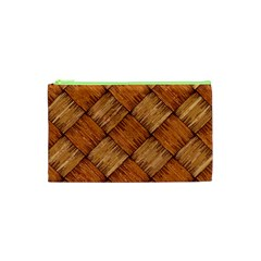 Vector Square Texture Pattern Cosmetic Bag (xs)