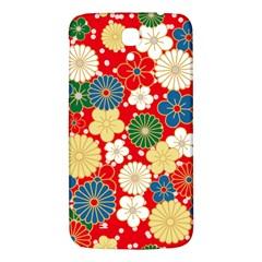 Season Flower Rose Sunflower Red Green Blue Samsung Galaxy Mega I9200 Hardshell Back Case