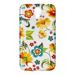Flower Floral Rose Sunflower Leaf Color Samsung Galaxy Mega 6 3  I9200 Hardshell Case