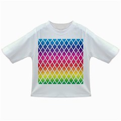 Colorful Rainbow Moroccan Pattern Infant/toddler T Shirts