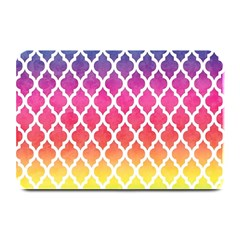 Colorful Rainbow Moroccan Pattern Plate Mats