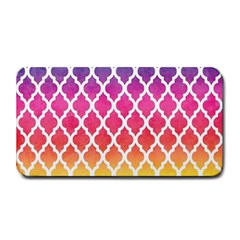 Colorful Rainbow Moroccan Pattern Medium Bar Mats