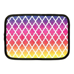 Colorful Rainbow Moroccan Pattern Netbook Case (medium)
