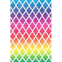 Colorful Rainbow Moroccan Pattern 5 5  X 8 5  Notebooks