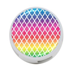 Colorful Rainbow Moroccan Pattern 4 Port Usb Hub (two Sides)