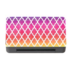 Colorful Rainbow Moroccan Pattern Memory Card Reader with CF