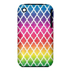 Colorful Rainbow Moroccan Pattern Iphone 3s/3gs