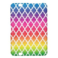 Colorful Rainbow Moroccan Pattern Kindle Fire Hd 8 9