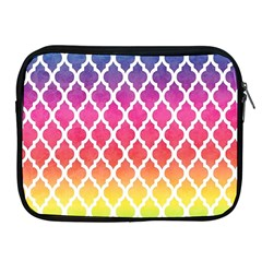 Colorful Rainbow Moroccan Pattern Apple Ipad 2/3/4 Zipper Cases