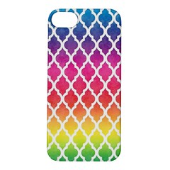Colorful Rainbow Moroccan Pattern Apple Iphone 5s/ Se Hardshell Case