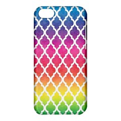 Colorful Rainbow Moroccan Pattern Apple Iphone 5c Hardshell Case