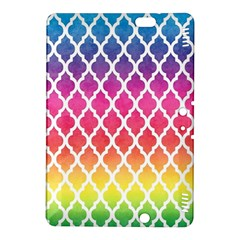Colorful Rainbow Moroccan Pattern Kindle Fire Hdx 8 9  Hardshell Case