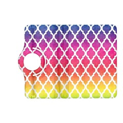 Colorful Rainbow Moroccan Pattern Kindle Fire Hd (2013) Flip 360 Case